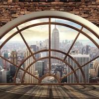 New York City  - ablak fotótapéta - 2397